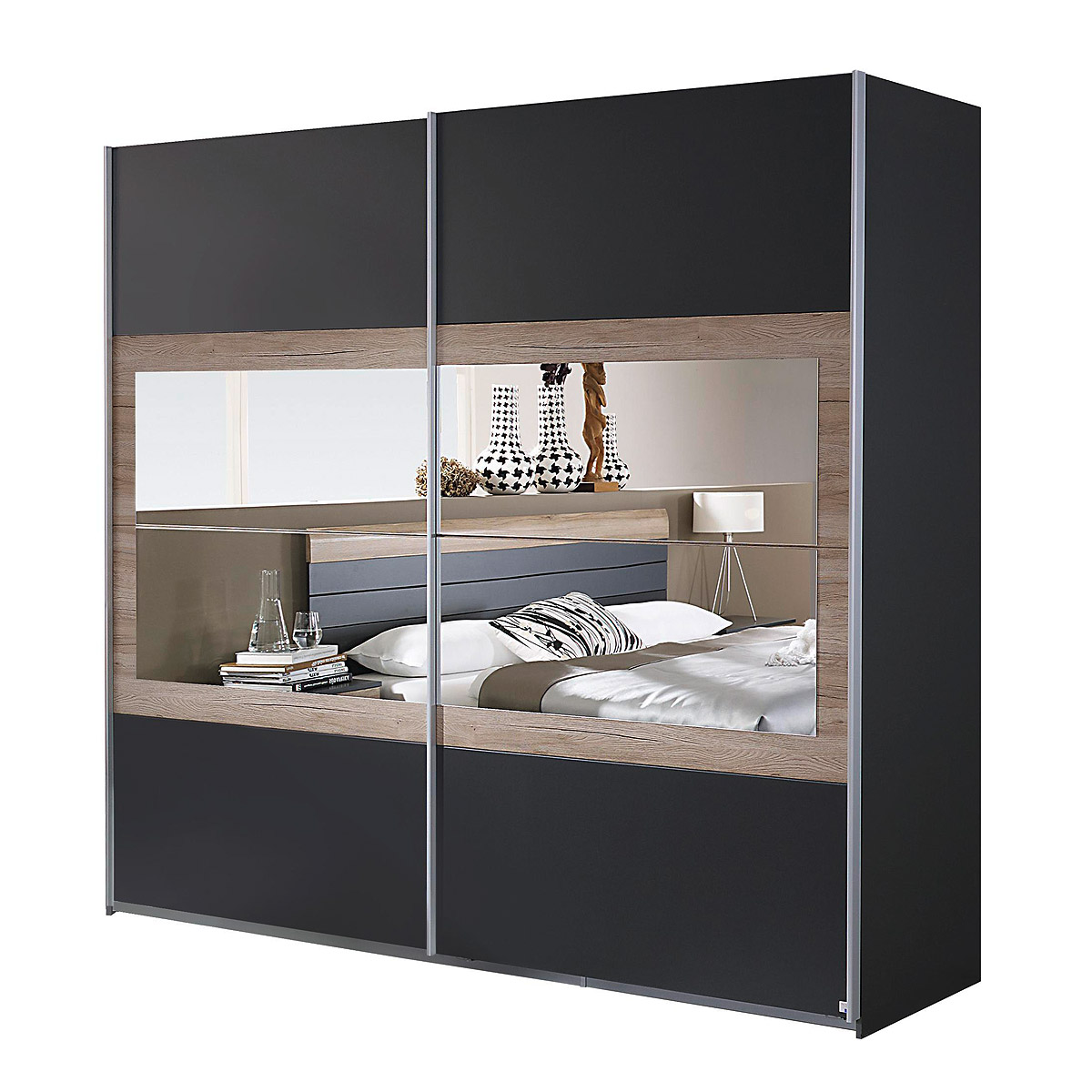 schwebet renschrank tarragona schlafzimmer kleiderschrank. Black Bedroom Furniture Sets. Home Design Ideas