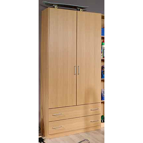 schuhschrank 2 prima 4you kleiderschrank schrank garderobe buche hell eur 144 95 picclick de. Black Bedroom Furniture Sets. Home Design Ideas