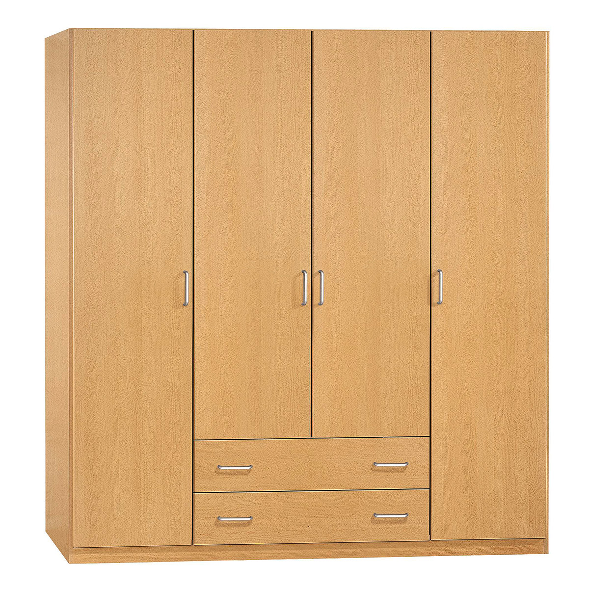 kleiderschrank prima 4you schrank garderobe buche hell b. Black Bedroom Furniture Sets. Home Design Ideas
