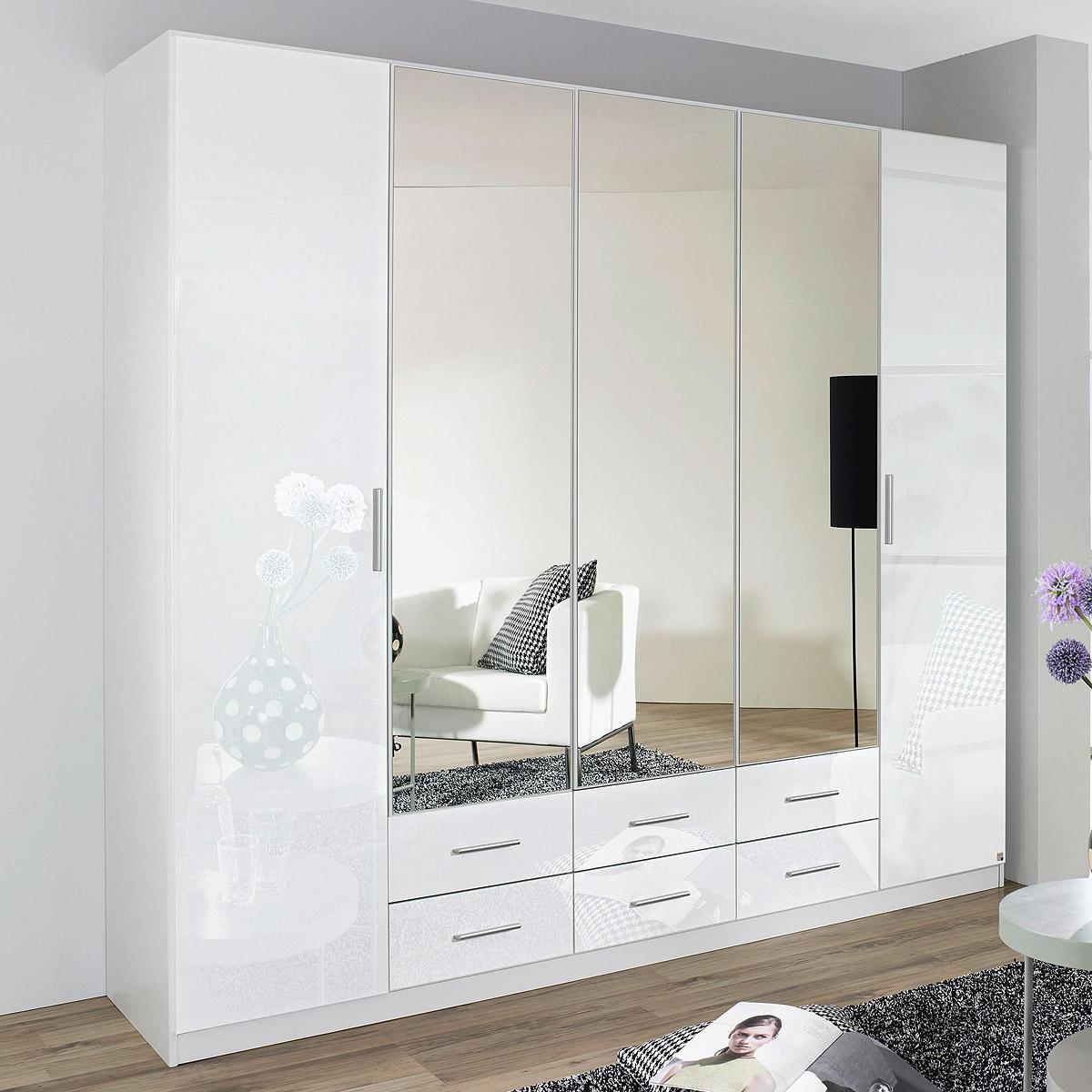 kleiderschrank hilden schrank schlafzimmer wei hochglanz. Black Bedroom Furniture Sets. Home Design Ideas