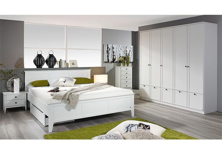 kleiderschrank gera schrank derht renschrank schlafzimmerschrank in wei 226 cm ebay. Black Bedroom Furniture Sets. Home Design Ideas