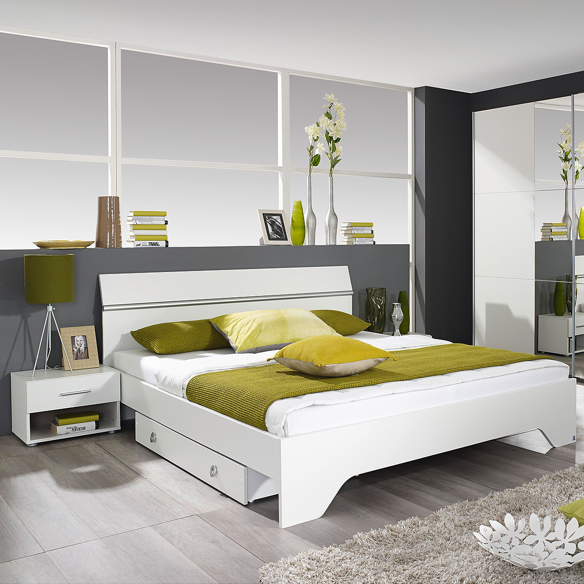 bettanlage fellbach bett nako schlafzimmerkombi. Black Bedroom Furniture Sets. Home Design Ideas