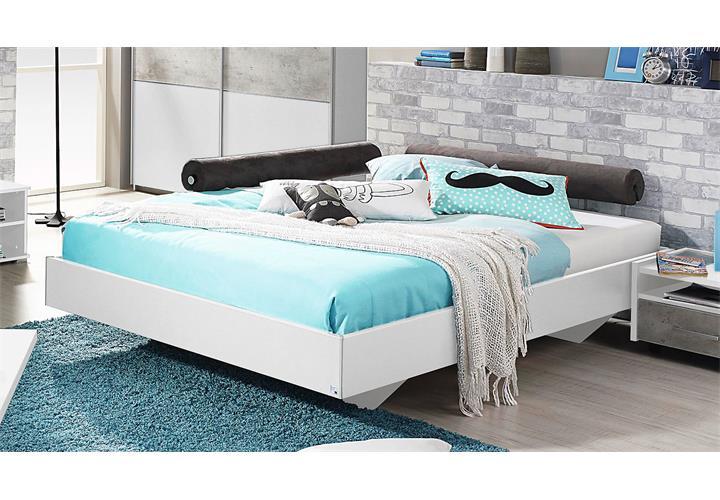 bett milo futonbett bettgestell liege f r jugendzimmer in wei 120x200 ebay. Black Bedroom Furniture Sets. Home Design Ideas