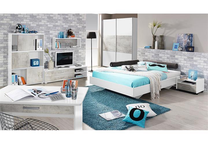 bett milo futonbett bettgestell liege f r jugendzimmer in. Black Bedroom Furniture Sets. Home Design Ideas