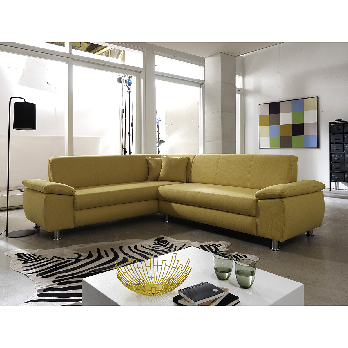 wohnlandschaft mexico ecksofa sofa polsterm bel. Black Bedroom Furniture Sets. Home Design Ideas