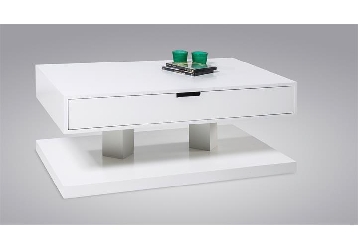 couchtisch hendrick beistelltisch wohnzimmertisch tisch in wei hochglanz 100 cm ebay. Black Bedroom Furniture Sets. Home Design Ideas