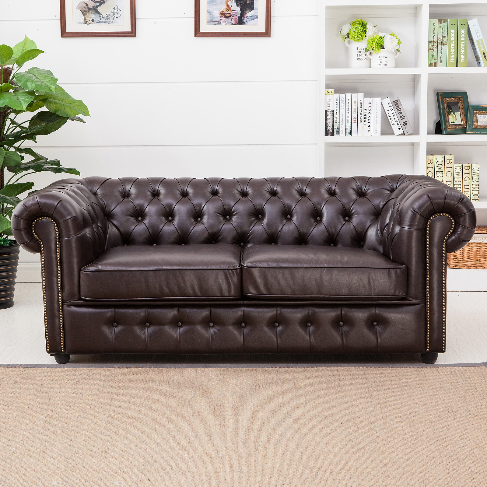 chesterfield sofa gebraucht. Black Bedroom Furniture Sets. Home Design Ideas
