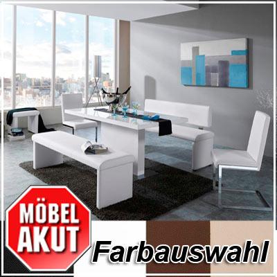 tischgruppe diner bank stuhl tisch mit farbauswahl ebay. Black Bedroom Furniture Sets. Home Design Ideas