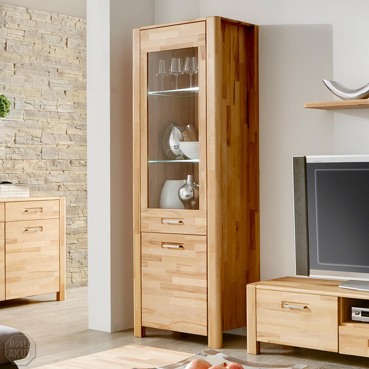 vitrine buche bestseller shop f r m bel und einrichtungen. Black Bedroom Furniture Sets. Home Design Ideas