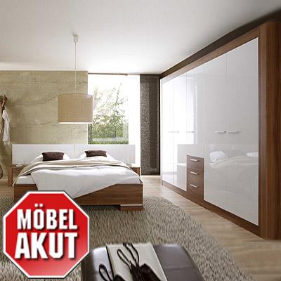 Schlafzimmer Nussbaum