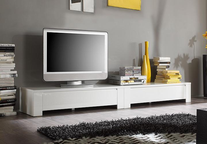 hochschrank vitrine amalfi in wei hochglanz lackiert mit. Black Bedroom Furniture Sets. Home Design Ideas