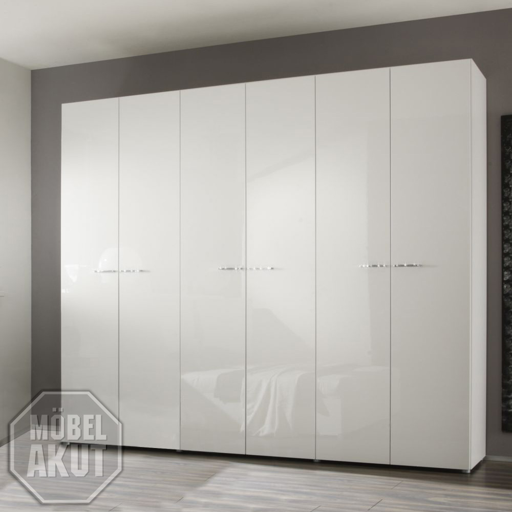kleiderschrank ambrosia schrank lack wei echt hochglanz neu ebay. Black Bedroom Furniture Sets. Home Design Ideas