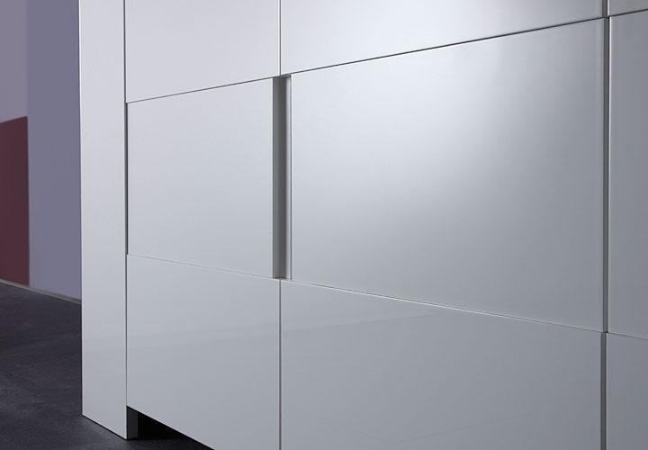sideboard eos kommode wei echt hochglanz lackiert 210 cm breit eur 299 95 picclick de. Black Bedroom Furniture Sets. Home Design Ideas