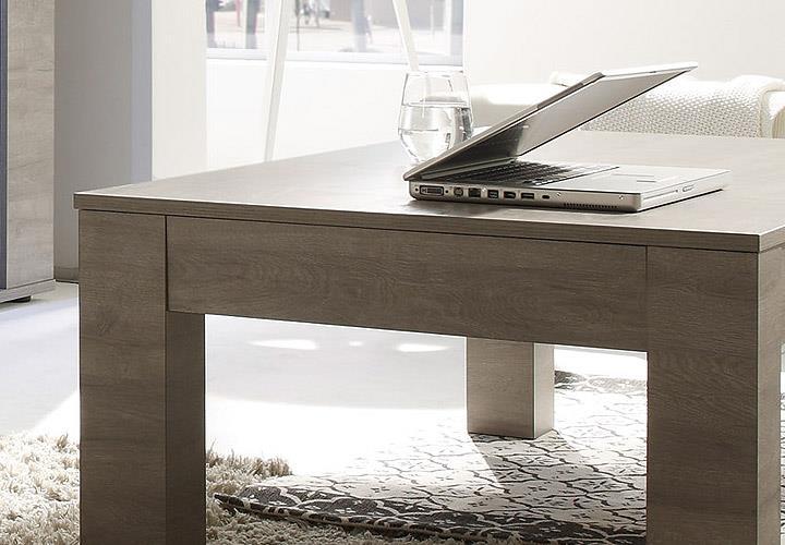 Couchtisch Sidney Tisch Wohnzimmer Eiche grau  eBay
