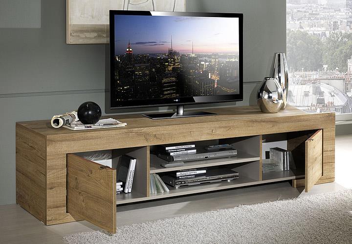 tv element milano lowboard kommode tv board in eiche natur b 191 cm eur 265 95 picclick de. Black Bedroom Furniture Sets. Home Design Ideas
