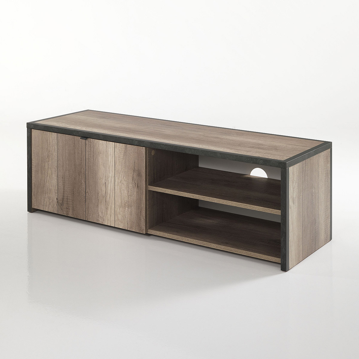 tv element tim lowboard kommode tv board eiche sanremo. Black Bedroom Furniture Sets. Home Design Ideas