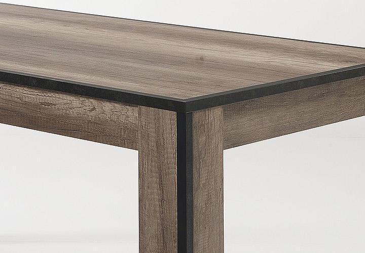 esstisch tim tisch eiche sanremo anthrazit beton optik 180x90 cm eur 288 95 picclick de. Black Bedroom Furniture Sets. Home Design Ideas