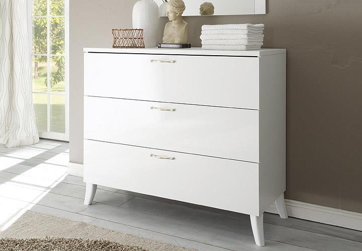 kommode musa dea schrank konsole wei hochglanz ebay. Black Bedroom Furniture Sets. Home Design Ideas