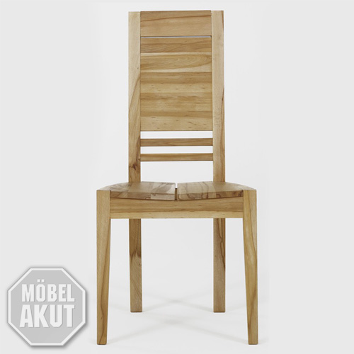stuhl paul 2 holzstuhl kernbuche massiv neu ovp ebay. Black Bedroom Furniture Sets. Home Design Ideas