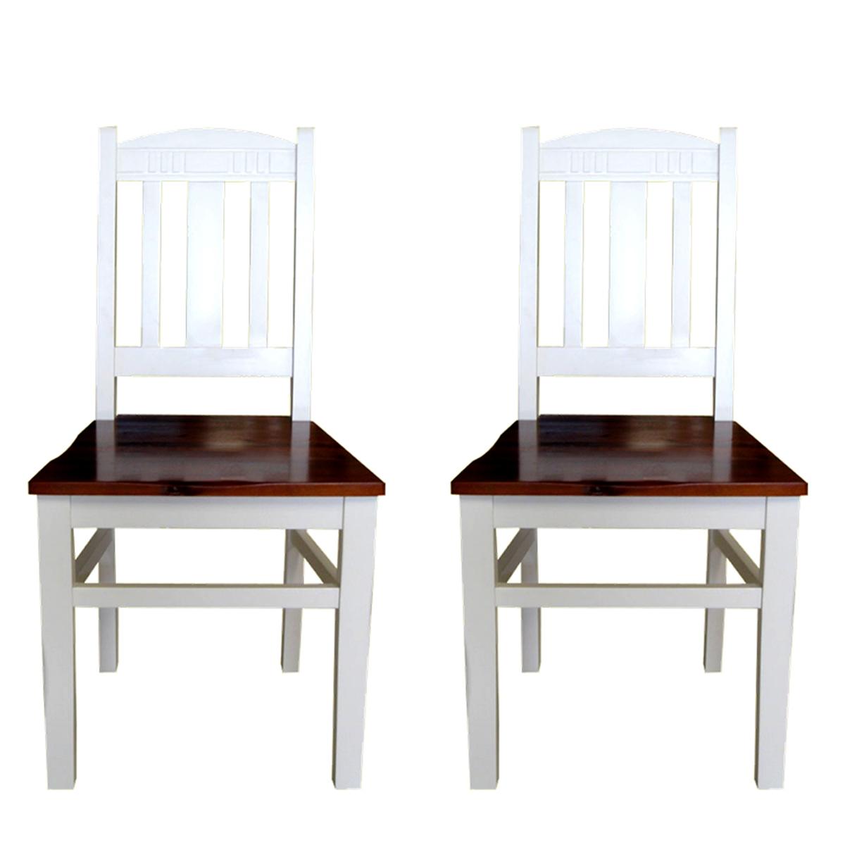 stuhl siena 2er set akazie teilmassiv esszimmer stuhl. Black Bedroom Furniture Sets. Home Design Ideas