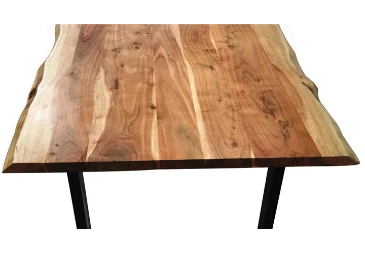 Esstisch Tops U0026 Tables Eisengestell Antikschwarz Tischplatte Akazie Massi.