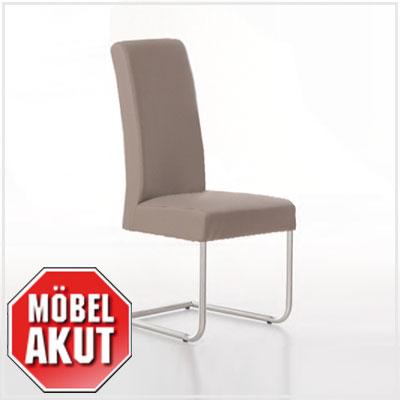 schwingstuhl samy stuhl polsterstuhl esszimmerstuhl hell braun schlamm ebay. Black Bedroom Furniture Sets. Home Design Ideas