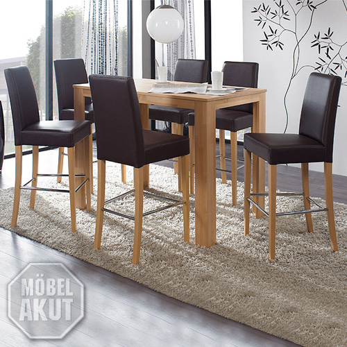 bistro set dalor chalo bartisch tisch barstuhl stuhl. Black Bedroom Furniture Sets. Home Design Ideas