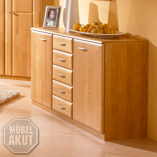sideboard monza kommode erle massiv neu ovp ebay. Black Bedroom Furniture Sets. Home Design Ideas