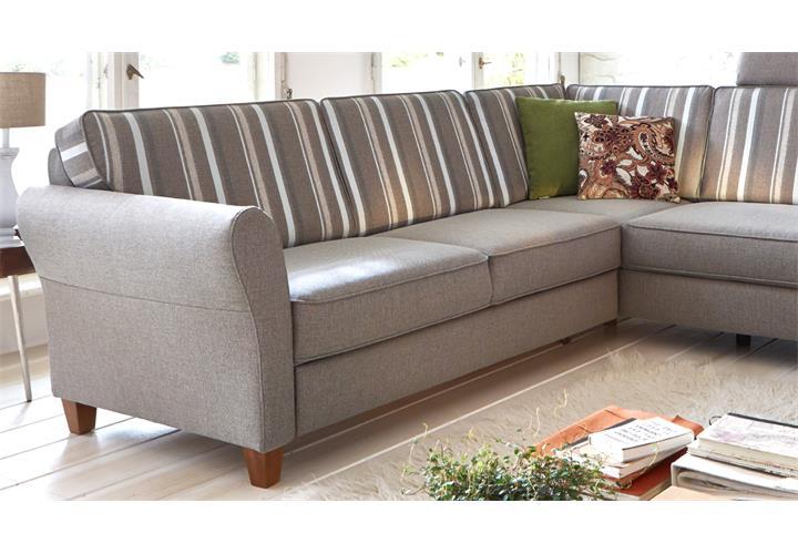 ecksofa baltrum sofa wohnlandschaft polsterm bel in beige. Black Bedroom Furniture Sets. Home Design Ideas