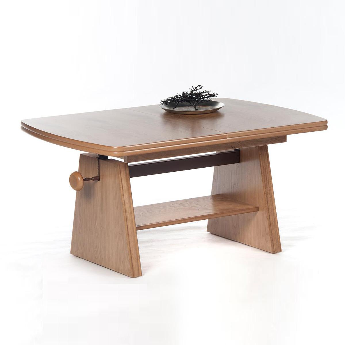 massivholz kernbuche couchtisch stubentisch beistelltisch glastisch tavolino iv ebay. Black Bedroom Furniture Sets. Home Design Ideas