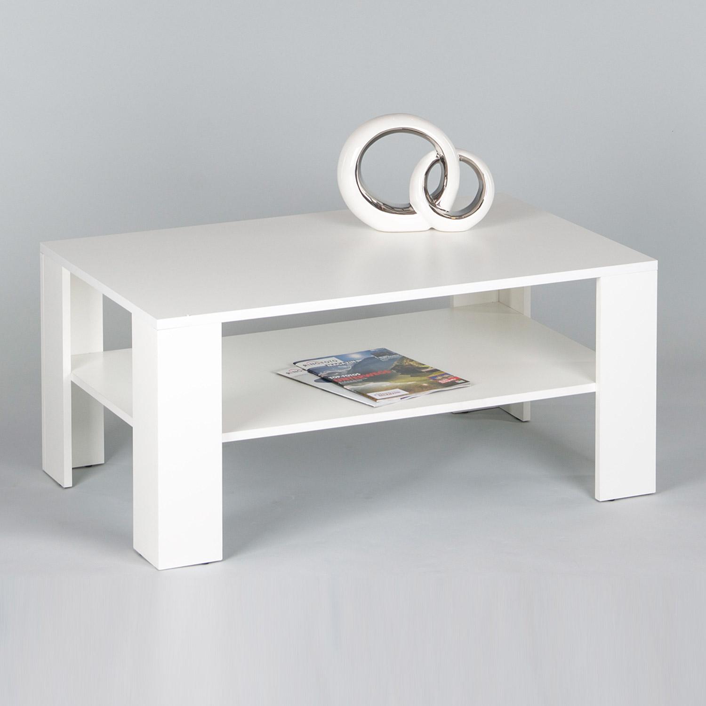 Couchtisch Joker Wohnzimmertisch Tisch in Weiß B 100 cm • EUR 37 ...