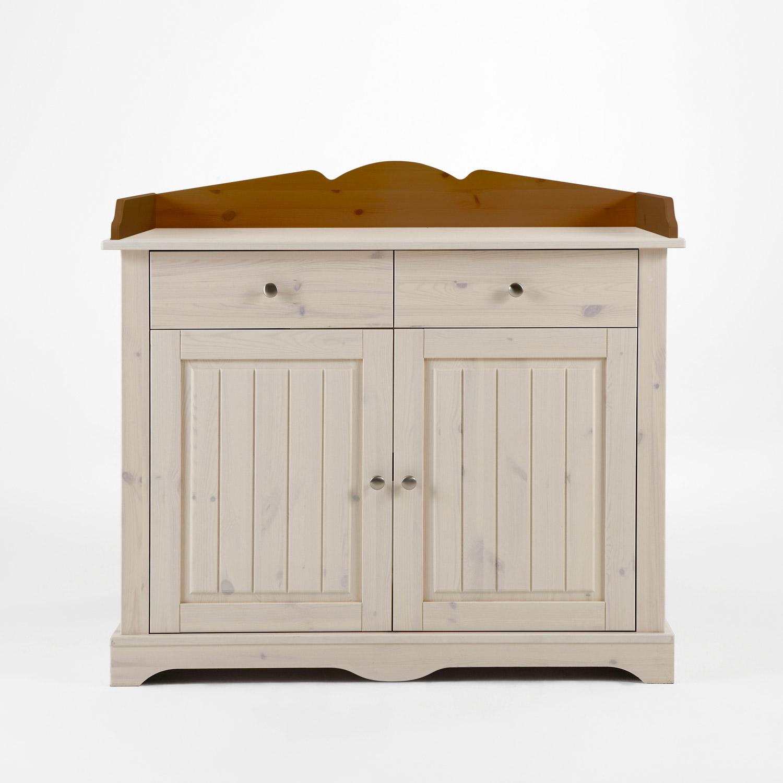 wickelkommode lotta babyzimmer kiefer massiv wei white wash provence ebay. Black Bedroom Furniture Sets. Home Design Ideas