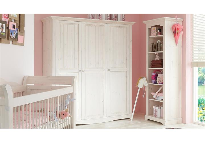 babyzimmer lotta babybett schrank regal wickelkommode. Black Bedroom Furniture Sets. Home Design Ideas