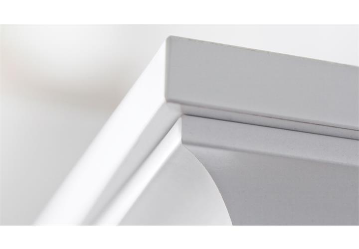 garderobe paris landhaus wei dielenschrank mit spiegel bank garderobenpaneel eur 329 95. Black Bedroom Furniture Sets. Home Design Ideas