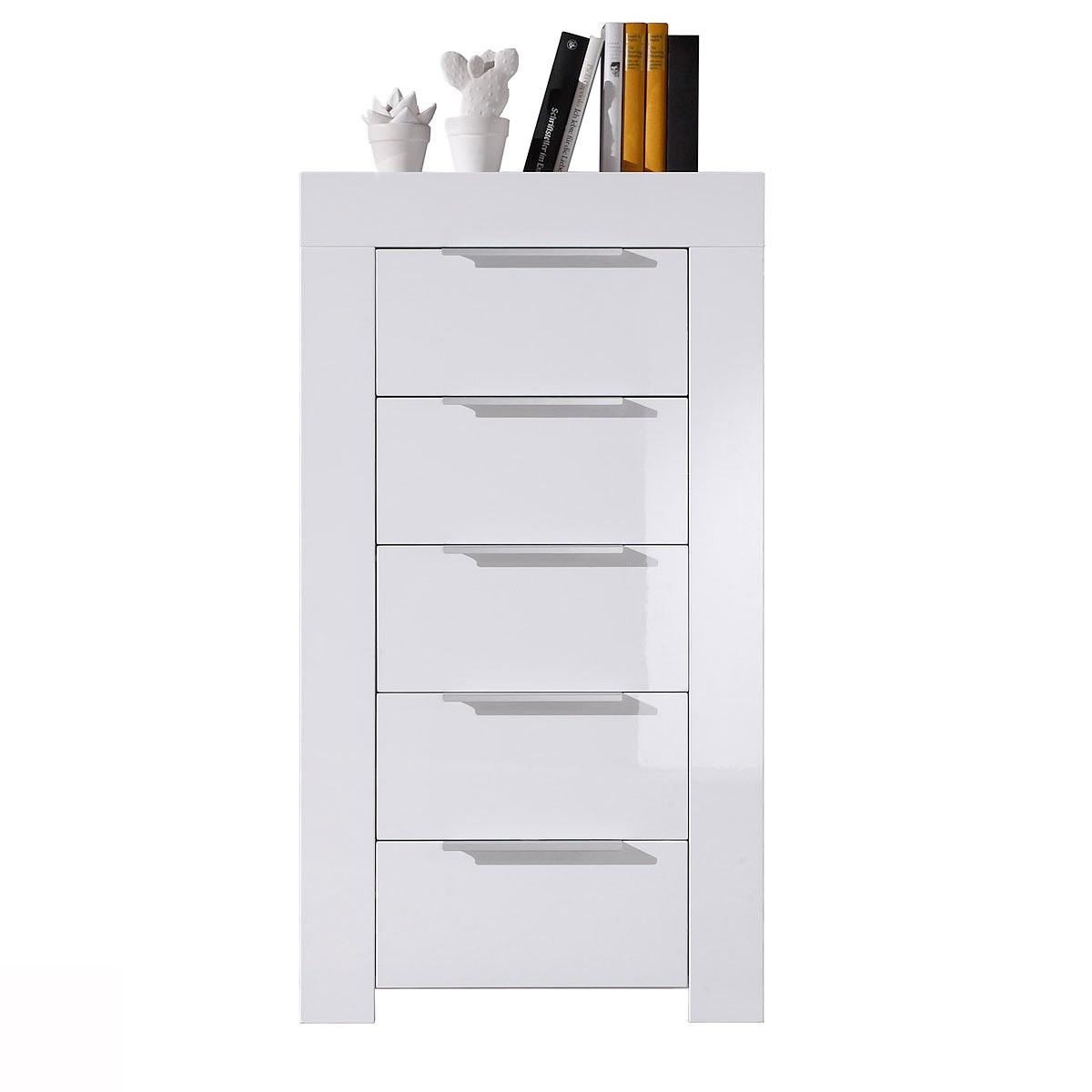 kommode mikado sideboard wei lack ebay. Black Bedroom Furniture Sets. Home Design Ideas