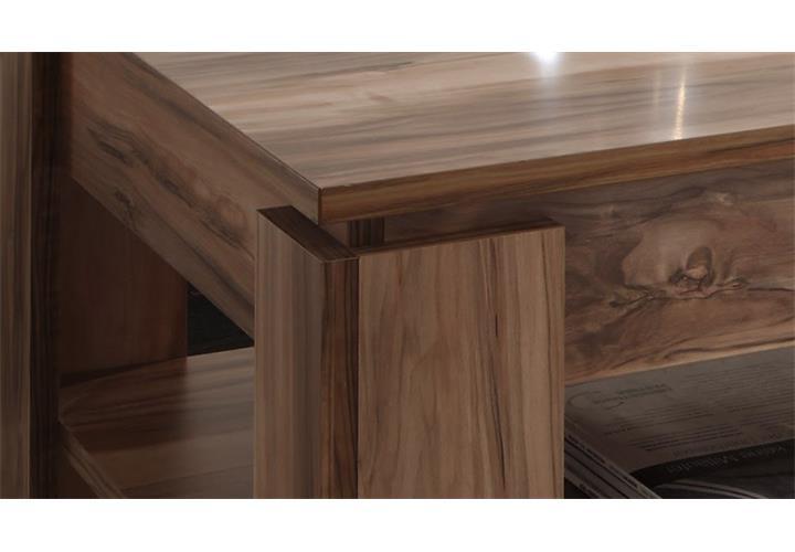 Couchtisch Universal Beistelltisch In Satin Nussbaum Tisch
