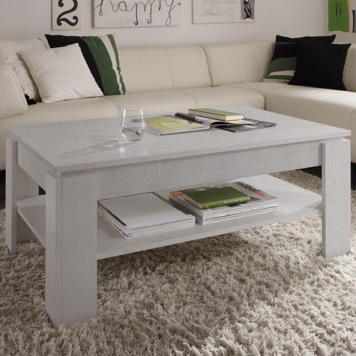 Couchtisch Universal mit Ablage Wohnzimmer Tisch