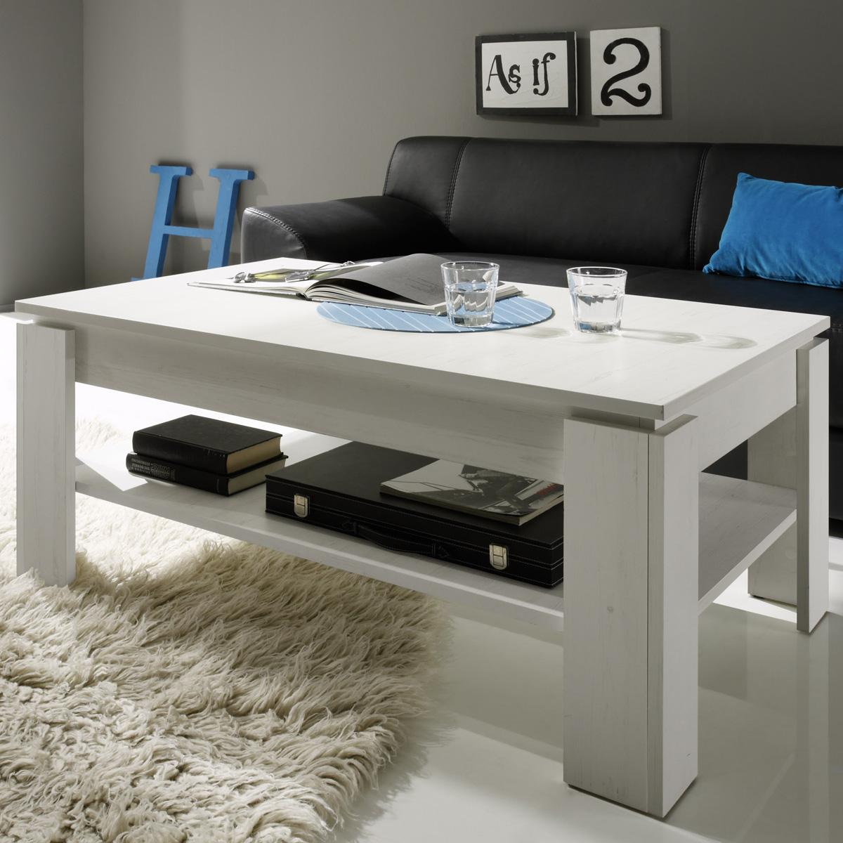 couchtisch universal beistelltisch in pinie struktur wei tisch wohnzimmertisch eur 88 95. Black Bedroom Furniture Sets. Home Design Ideas