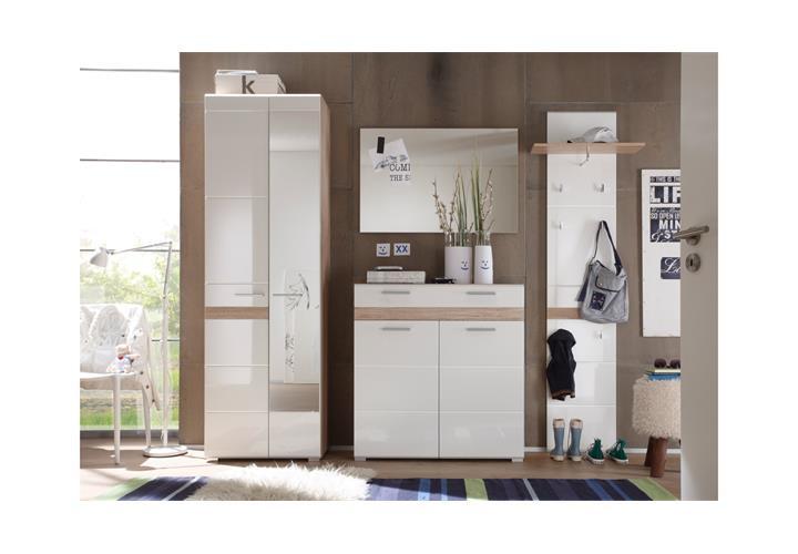 paneel setone garderobe wandpaneel garderobenhaken eiche. Black Bedroom Furniture Sets. Home Design Ideas