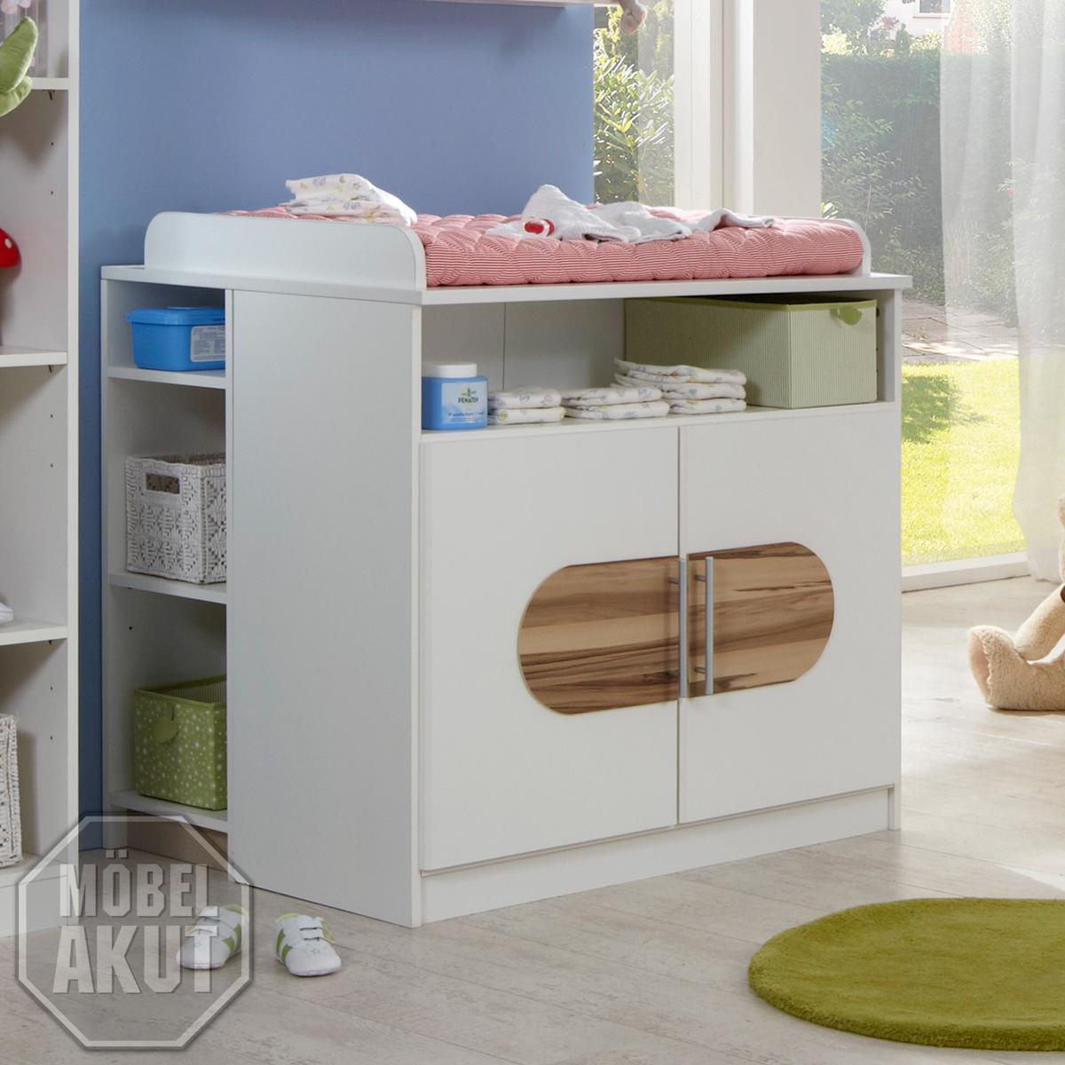 wickelkommode jake in wei baltimore babyzimmer ebay. Black Bedroom Furniture Sets. Home Design Ideas