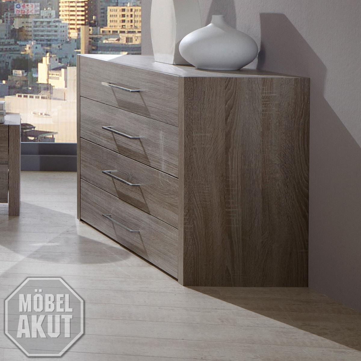 schubkastenkommode nexon kommode in montana eiche ebay. Black Bedroom Furniture Sets. Home Design Ideas