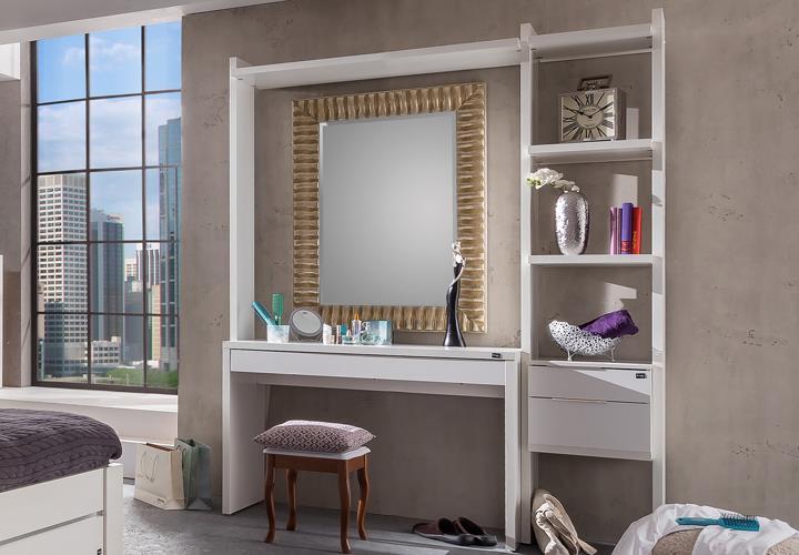 Schminktisch level up schlafzimmer in alpinwei mit 3 schubk sten eur 529 95 picclick de - Schlafzimmer mit schminktisch ...