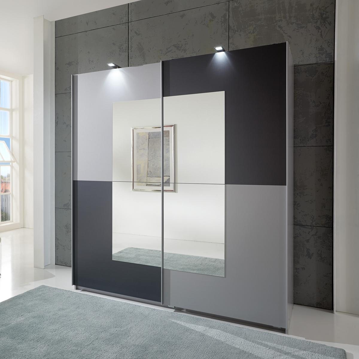 Kleiderschrank spiegel modern  Schlafzimmerschrank Modern Mit Spiegel | gispatcher.com