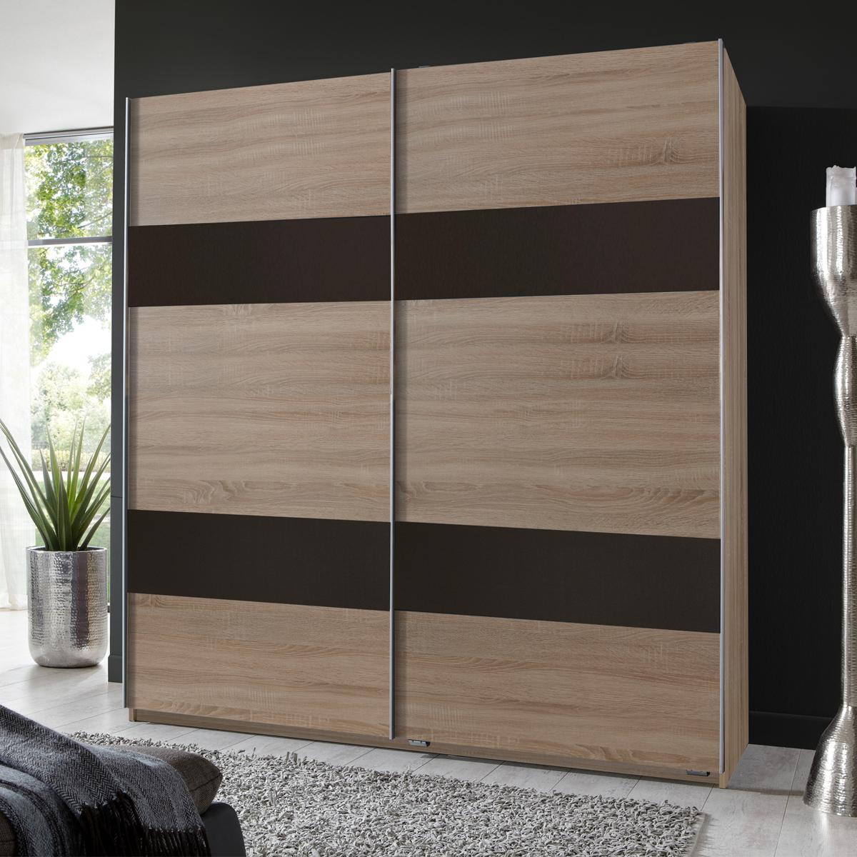 kleiderschrank chess schwebet renschrank 5 farben 180 cm oder 135 cm ebay. Black Bedroom Furniture Sets. Home Design Ideas