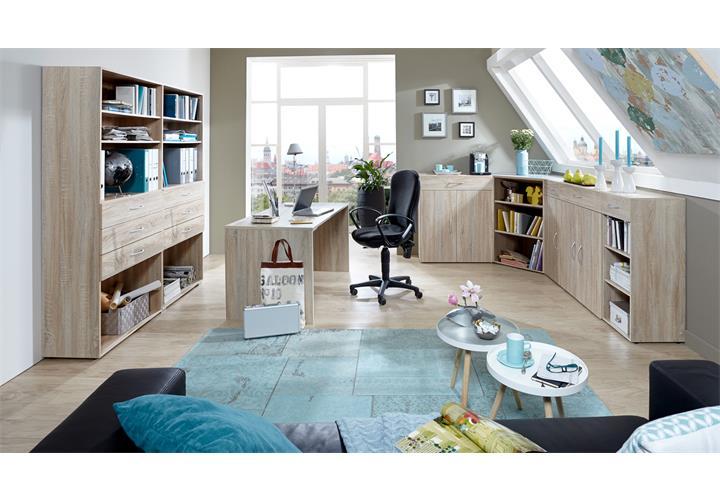 eckschrank multi room sideboard tv board regalsystem schranksystem eiche s gerau ebay. Black Bedroom Furniture Sets. Home Design Ideas