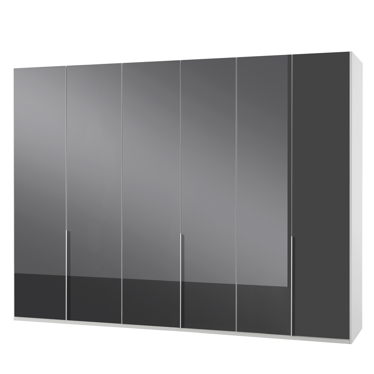 kleiderschrank new york c glas grau und alpinwei 270 schrank dreht renschrank. Black Bedroom Furniture Sets. Home Design Ideas