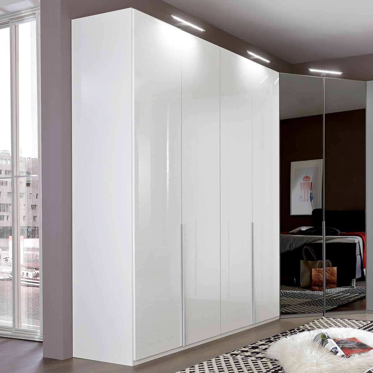 kleiderschrank new york d 180 cm dreht renschrank pearlglanz softwhite alpinwei. Black Bedroom Furniture Sets. Home Design Ideas