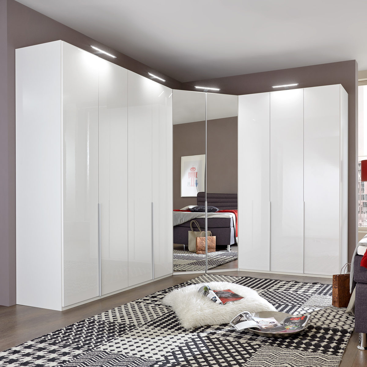 eckschrank new york d kleiderschrank schrank in pearlglanz softwhite alpinwei eur. Black Bedroom Furniture Sets. Home Design Ideas