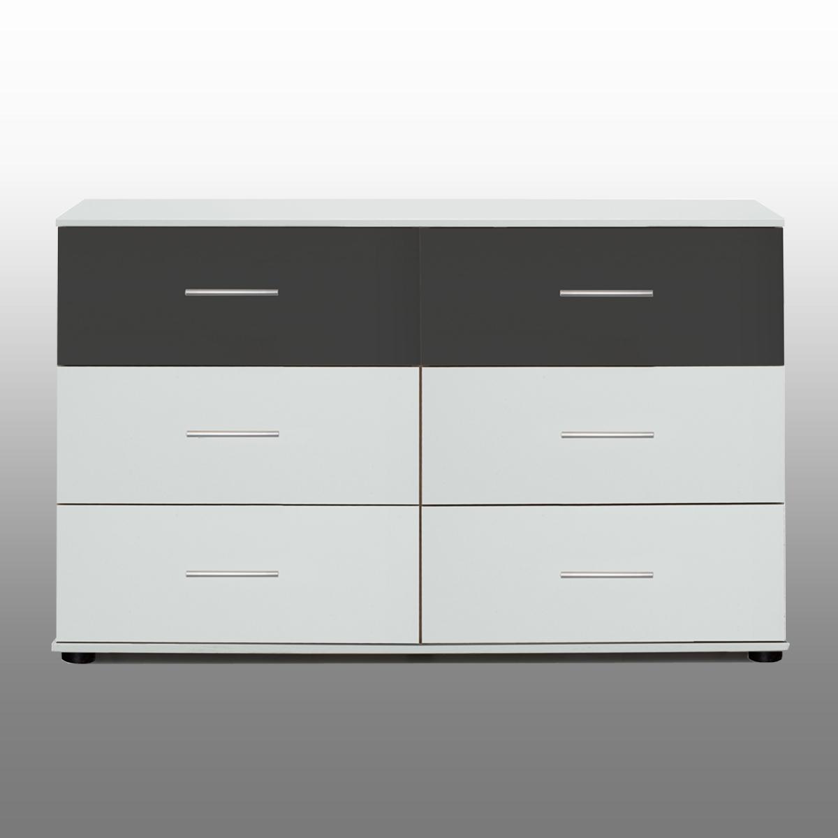 Kommode Nussbaum Anthrazit ~ Das Beste aus Wohndesign und Möbel Inspiration