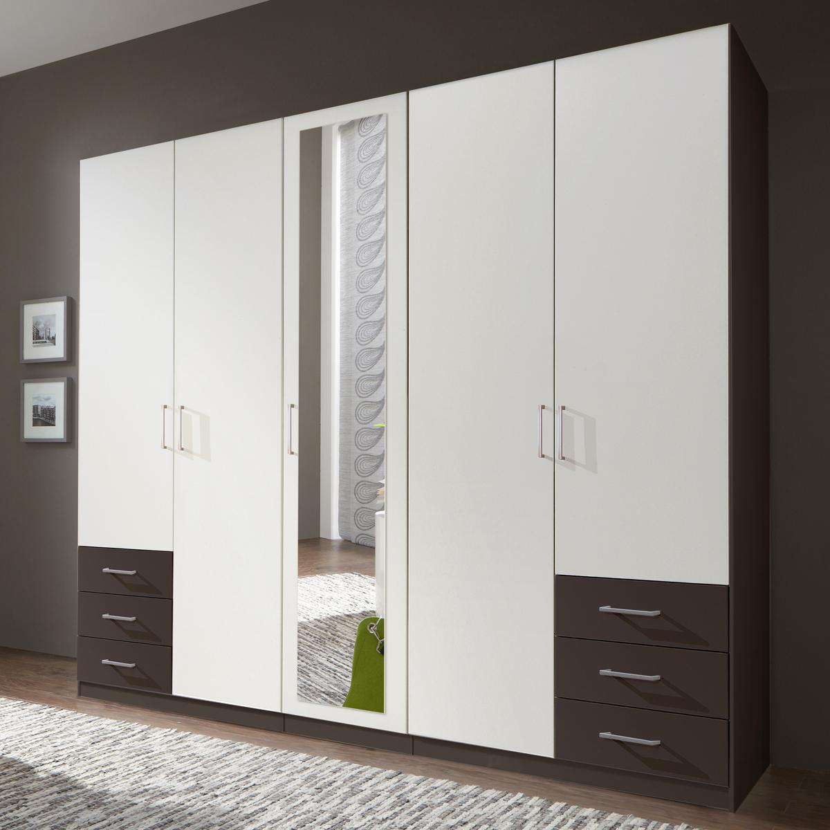 kleiderschrank f gen alpinwei und lava schrank mit spiegel dreht renschrank eur 278 95. Black Bedroom Furniture Sets. Home Design Ideas